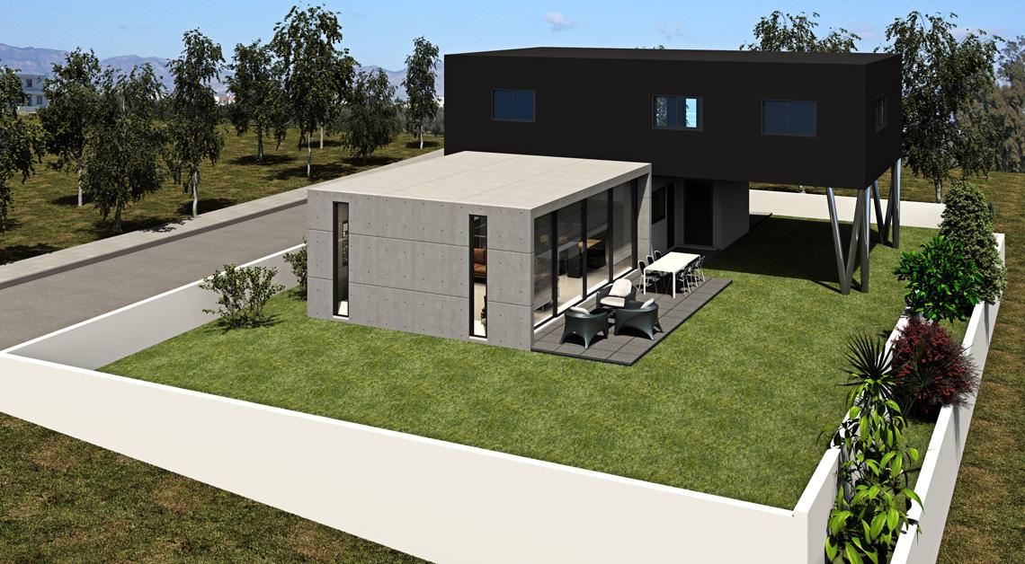 Έχετε δικό σας οικόπεδο<br>Σας χτίζουμε το σπίτι σας